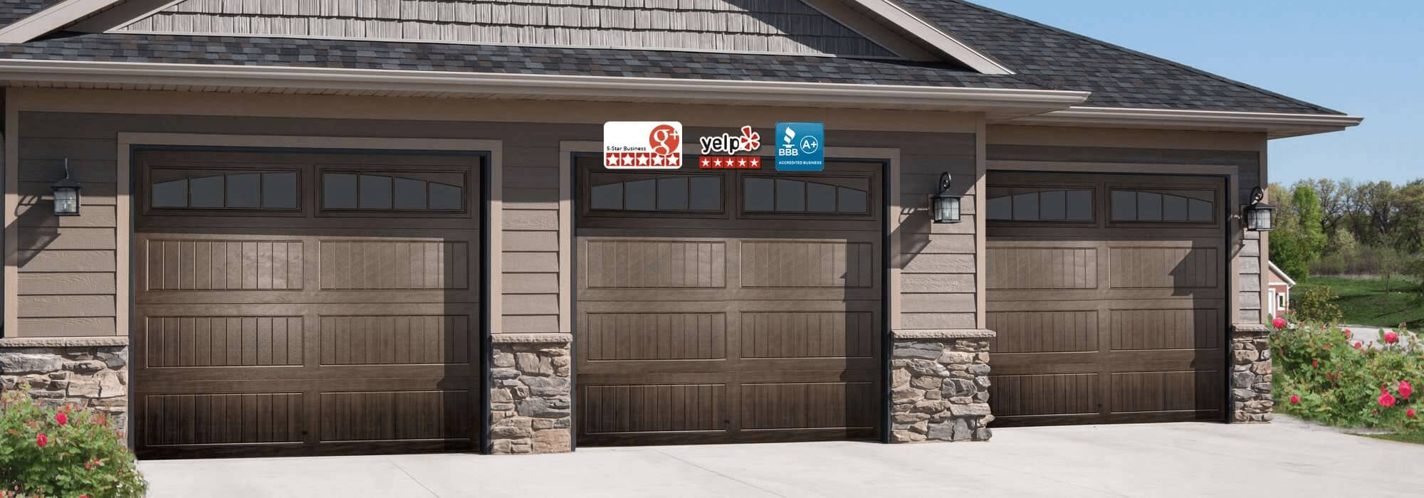 ca angeles accurate door garage svc repair image los